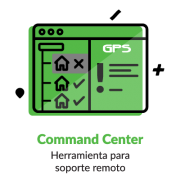 Iconografía NCR Aloha Command Center soporte remoto
