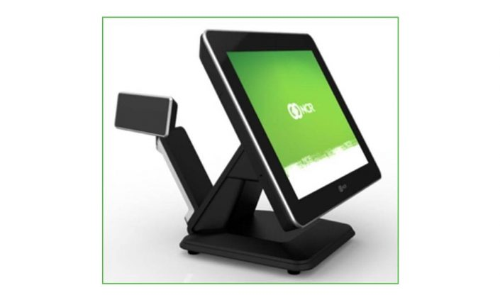 Display NCR de barra montado en POS P1535